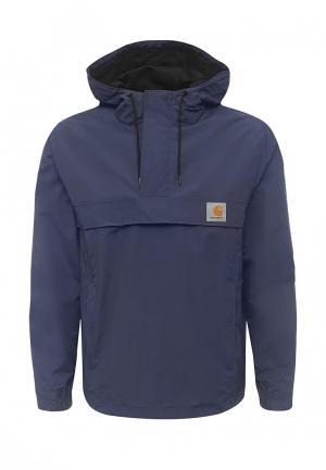 Куртка Carhartt. Цвет: синий