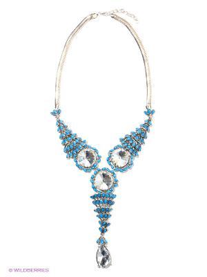 Колье Infiniti. Цвет: синий, серебристый, прозрачный