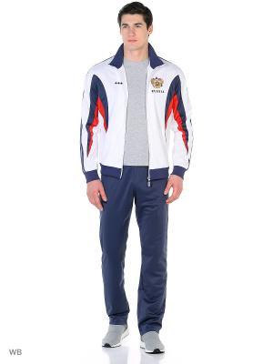 Спортивный костюм ADDIC. Цвет: белый