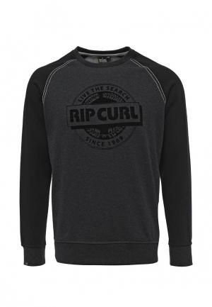 Свитшот Rip Curl. Цвет: черный