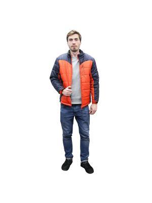 Куртка демисезонная и спиннер в подарок PROFFI. Цвет: оранжевый