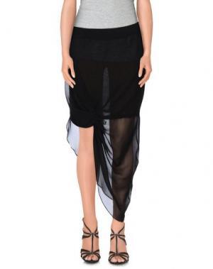 Длинная юбка TIGER OF SWEDEN. Цвет: черный
