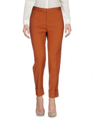 Повседневные брюки TARA JARMON. Цвет: желто-коричневый
