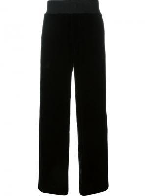 Широкие брюки Xander Zhou. Цвет: чёрный