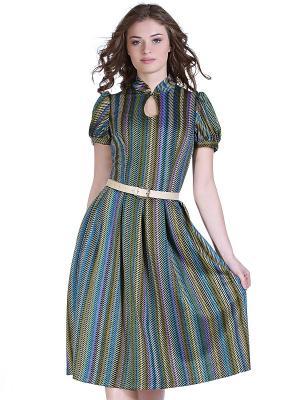 Платье OLIVEGREY. Цвет: морская волна, бирюзовый