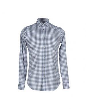 Pубашка MAURO GRIFONI. Цвет: темно-синий