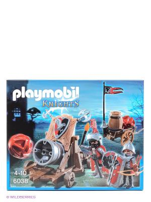 Рыцари Боевая пушка Рыцарей Сокола Playmobil. Цвет: голубой