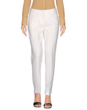 Повседневные брюки BRIAN DALES. Цвет: белый