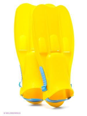 Ласты Intex. Цвет: желтый, голубой