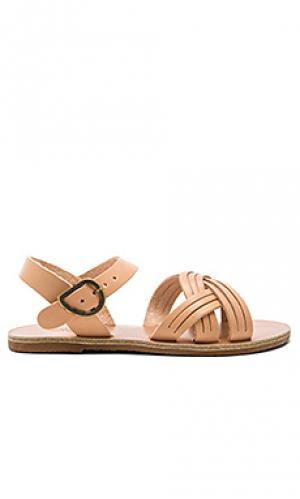 Сандалии little electra Ancient Greek Sandals. Цвет: беж