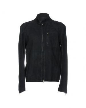 Куртка SALVATORE SANTORO. Цвет: темно-синий