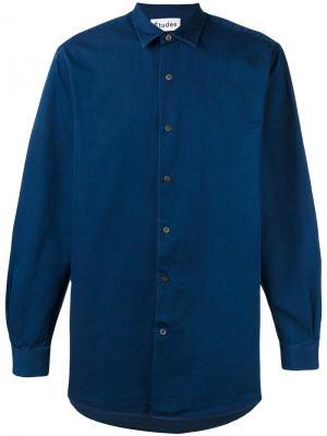 Рубашка Ombre Études. Цвет: синий