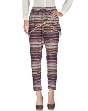 Повседневные брюки MASON'S. Цвет: хаки