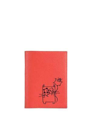Бумажник водителя FABULA. Цвет: розовый