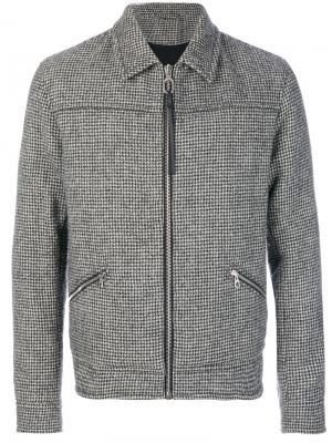 Легкая куртка на молнии Lanvin. Цвет: серый