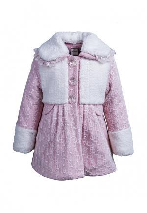 Пальто Cascatto. Цвет: розовый