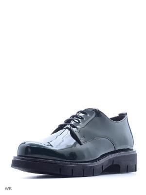 Туфли Francesco Donni. Цвет: темно-зеленый
