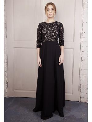 Платье с кружевным верхом Self Made