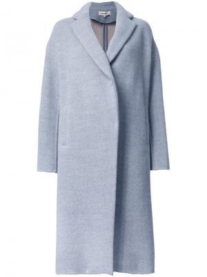 Объемное пальто Enföld. Цвет: серый