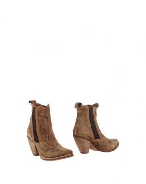 Полусапоги и высокие ботинки EL VAQUERO. Цвет: верблюжий
