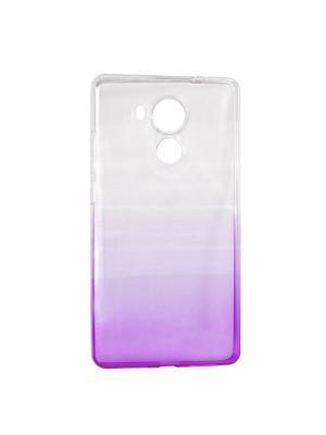 Крышка задняя для Huawei MATE 8 Силикон IQ Format. Цвет: фиолетовый