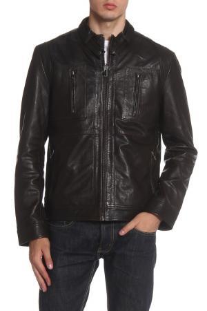 Куртка Barneys originals. Цвет: dark brown