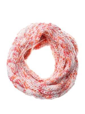 Снуд Gusachi. Цвет: белый, красный, оранжевый