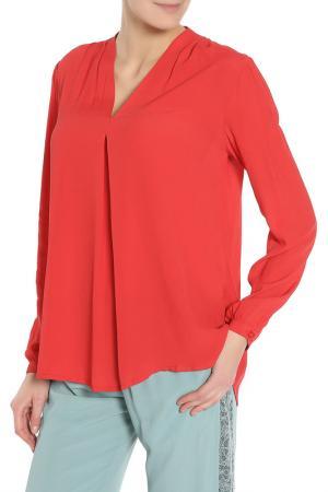 Блузка BGN. Цвет: красный