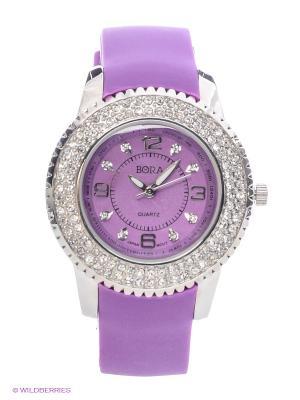Часы Bora. Цвет: фиолетовый
