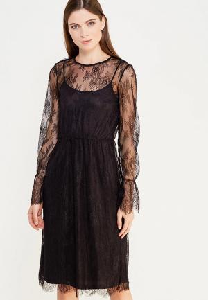 Платье Vero Moda. Цвет: черный