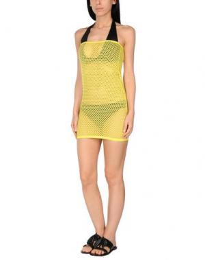 Пляжное платье LEITMOTIV. Цвет: желтый