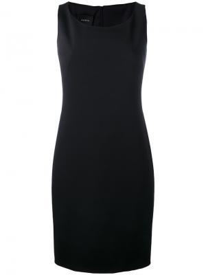 Облегающее платье шифт Akris. Цвет: чёрный