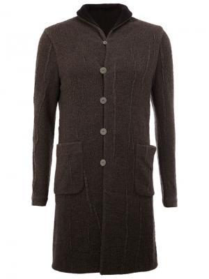 Reversible coat Label Under Construction. Цвет: серый