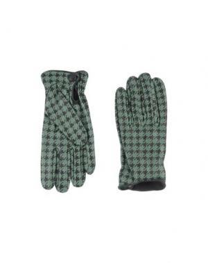 Перчатки FINGERS Venezia. Цвет: зеленый