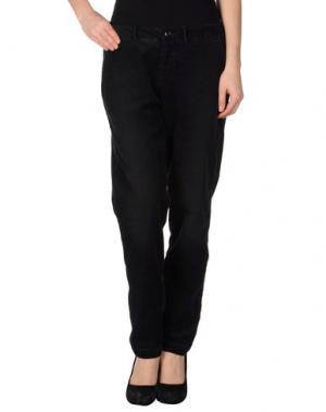 Повседневные брюки BELLEROSE. Цвет: стальной серый