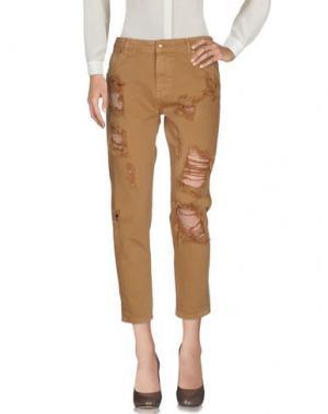 Повседневные брюки EVERIS. Цвет: верблюжий