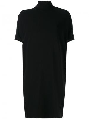 Linma cutout shoulder top By Malene Birger. Цвет: чёрный