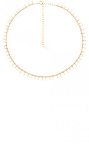 Золотое ожерелье mumbai Natalie B Jewelry. Цвет: металлический золотой