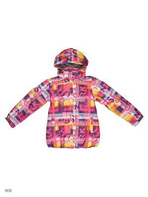 Куртка High Experience. Цвет: малиновый, желтый, темно-фиолетовый
