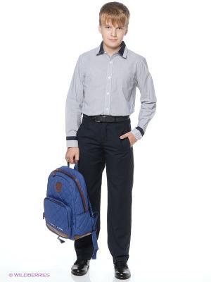 Рубашка Vitacci. Цвет: серый