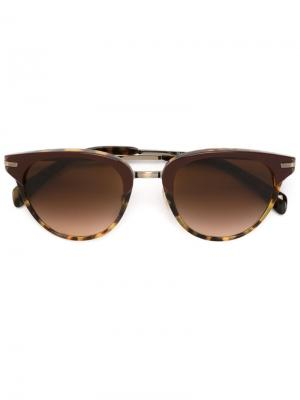 Солнцезащитные очки Jaron Paul Smith. Цвет: красный