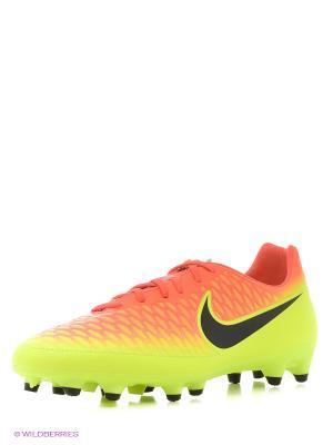 Бутсы MAGISTA ONDA FG Nike. Цвет: оранжевый