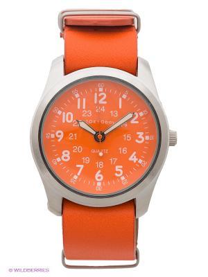 Часы TOKYObay. Цвет: оранжевый