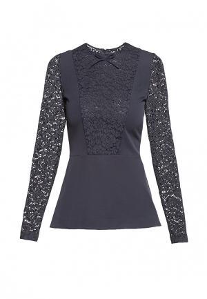 Блуза Arefeva. Цвет: черный