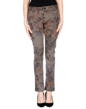 Повседневные брюки FLY GIRL. Цвет: хаки