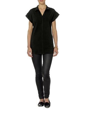 Блузка APART. Цвет: черный