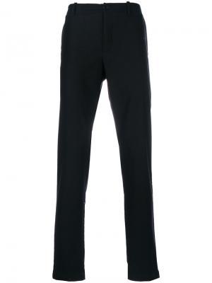 Классические брюки YMC. Цвет: чёрный
