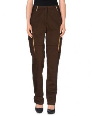 Повседневные брюки DONNAVVENTURA by ALVIERO MARTINI 1a CLASSE. Цвет: темно-коричневый