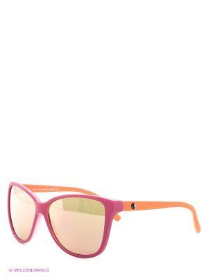 Солнцезащитные очки Franco Sordelli. Цвет: розовый, оранжевый