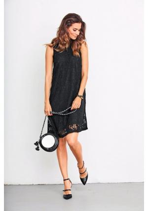 Платье VIVANCE. Цвет: кремовый, черный
